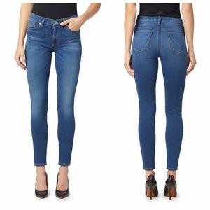 HUDSON Natalie Midrise Super Skinny Ankle Jeans